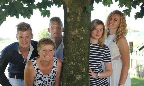 Wil Derks gezin
